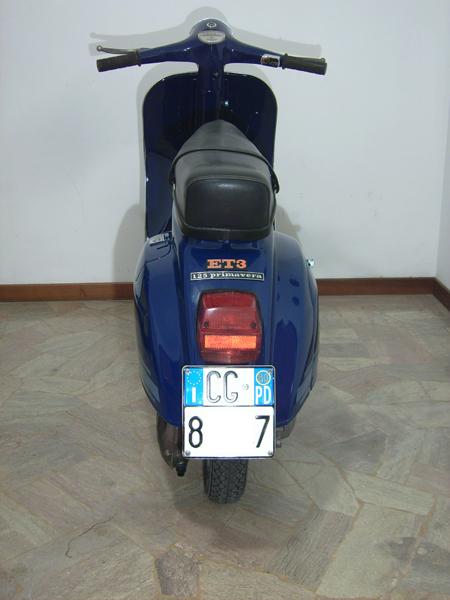 Vespa 125 primavera et3 1981 for Scaccia piccioni leroy merlin