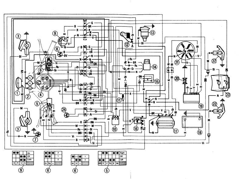 Schema Elettrico Ape 50 : Schema elettrico ape piaggio idee di immagine del
