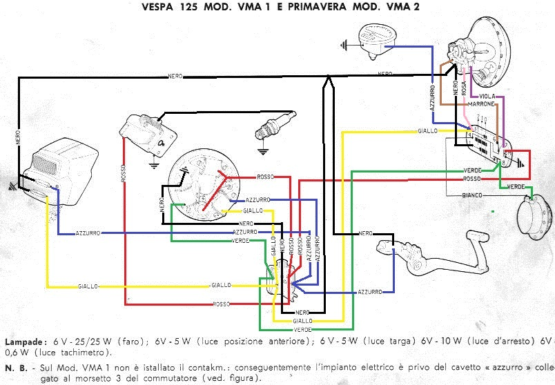 Schema Elettrico Vespa Et3 : Forum vespa piaggio vespaforum e mercatino di