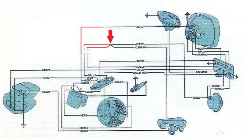 Schema Elettrico Vespa Px 125 Senza Batteria : Schema elettrico vespa gl senza batteria fare di una mosca