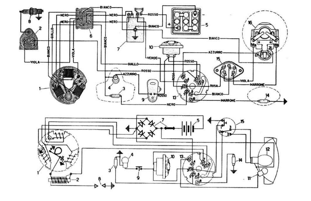 Schema elettrico vba