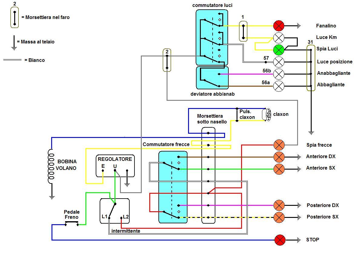 Schema Elettrico Et3 : Manuale d uso e manutenzione vespa et e primavera adatto