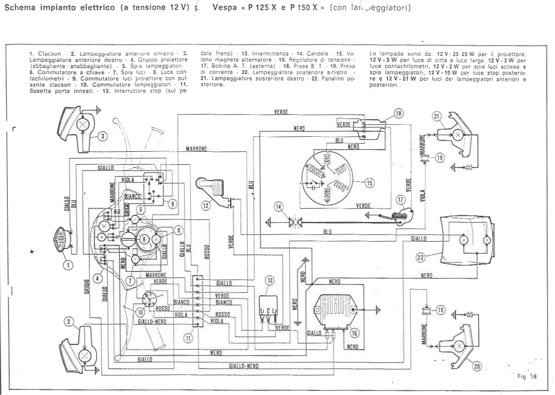 Schemi Elettrici Vespa : Ricambi vespa ricambi scooter parts moto epoca ricambi originali