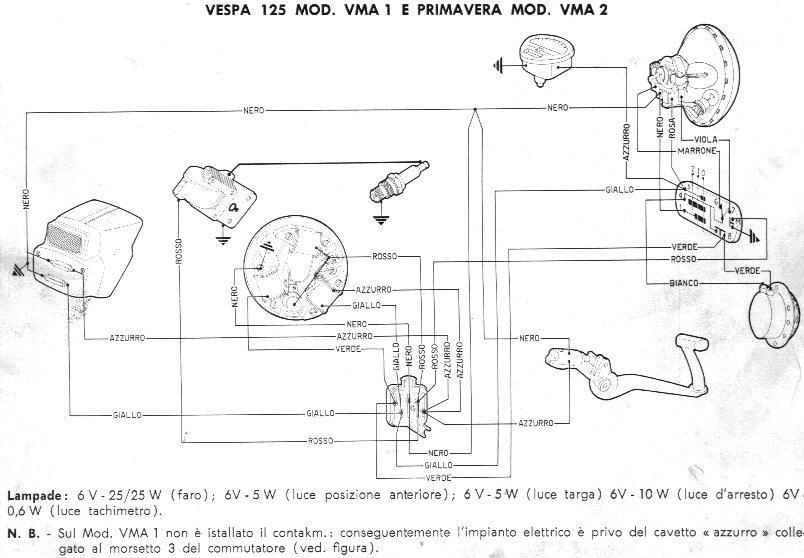 Schema Elettrico Vespa Et3 : Schema elettrico vespa et fare di una mosca