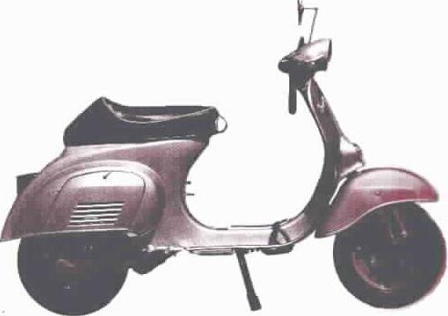 vespa 50 replica reamke 1991